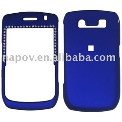 mobile phone case,mobile phone accessory,for blackberry accessories with diamond for blackberry 8900(paypal)