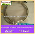 Teflon hoses braided with stainless steel