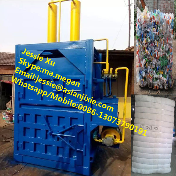 Hydraulic clothes balling machine/used clothing baling machine