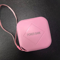 2018 new products 10000mAh power bank protable 18650 battery pink