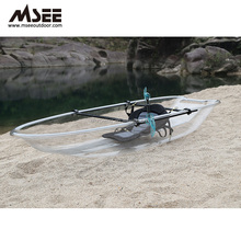Free Paddle Glass Bottom Boat Sale Glass Bottom Kayak Including Necessary Accessories