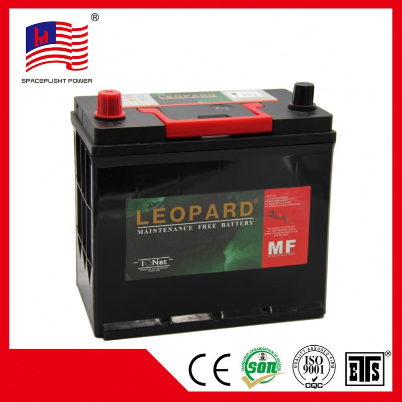 korean 45AH JIS maintenance free quick start automotive car battery 12v