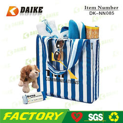 Newest Nylon Personalized Portable clear promotional bags and logo DK-NN085
