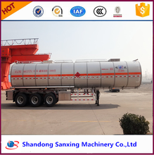 China manufacturer export south America chemical truck and tank trailer