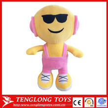 new product 2016 emoji plush stuffed toy
