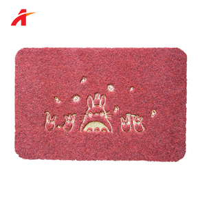 Anti-Slip Mat For Swimming Pool Factory Wholesale Rubber Cotton Door Mat