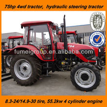 75hp tractor with the front bucket