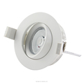 360deg Tilt GYRO Dim to Warm LED Lighting 9w 2000-2800k Cutout 83mm IP44