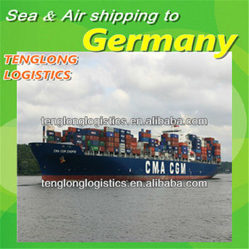 shipping container to Hamburg and Hagen of Germany from China Shenzhen Hongkong Shanghai