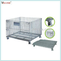 Factory Wire Cage Commercial Steel Wire Mesh Crate