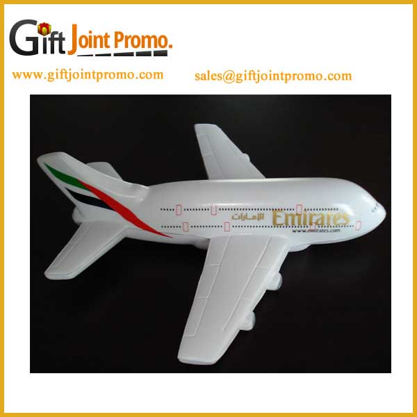 Cheap Printed Airliner Anti-Stress Ball