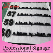 Custom House Paint Stainless-steel Words Indoor Sign