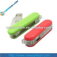 New design can rotate plastic usb flash memory driver 4gb