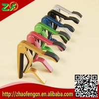 2015 Electronic Acoustic Guitar Capo Color Guitar Capo Support OEM