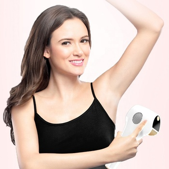 Women's Painless Hair Remover For Home Use Portable IPL Laser Hair Removal