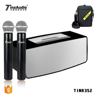 2018 portable electric guitar amplifier blue tooth handheld microphone ultra-compact wireless portable pa system