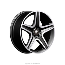 alloy wheels for ben-z AMG 19*8/20*9 5*112 machined black