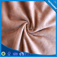 Cheap Price Micro Suede Fabric Piled Genuine Leather Look Suede Fabric for Footwear/Dress/Garment