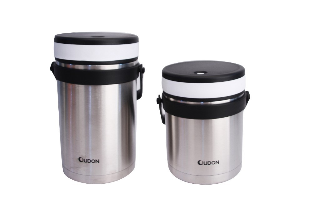 1.5L metal food storage container insulated