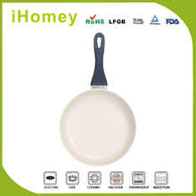 Non stick square die cast frying pan with bakelite handle