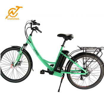 36V 250W/500W CR26A electric bicycle city e-bike two colors