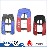Polyester Inflatable Life Jacket With EC