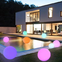 glow outdoor waterproof color changing mood led light swimming pool ball