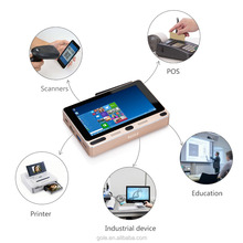 GOLE1 5inch Touch Screen Intel Z8350 4GB RAM 32/64GB ROM Mini PC Smart TV Box Windows10+Android 5.1 Dual OS Tablet PC