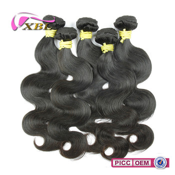 Wholesale price high quality natural color cheap human hair weaving