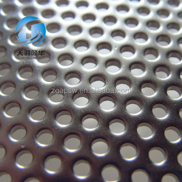 Aluminum 6061 T6 2mm Thickness Perforated Mesh Sheet