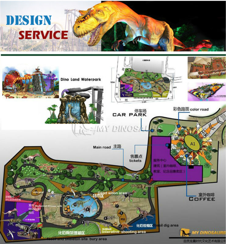 MY DINO-SP060 Attractions for Shopping Center Dinosaur 3d Model Baby T Rex Costume