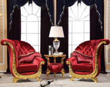 FOSHAN <strong>FURNITURE</strong> High Back Baroque Queen Throne king chair and table- ASF2039