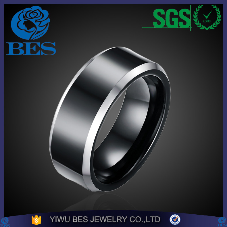 Top Quality Ally Express Cheap Wholesale Ring Unisex Fashion Classic Engagement Wedding Tungsten Carbide Stainless Steel Ring