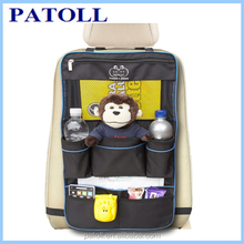 Car Accessories Interior with Detachable Pocket, Travel Hanging Car Cloth Bags
