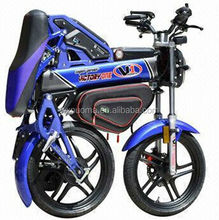 new design high quality 1500w foldable electric motorcycle with multifunction