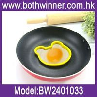 heart shaped fried egg , H0T083 , silicone egg mould , sunnyside silicone egg molds fried ring