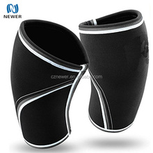 Breathable Neoprene Compression 7mm Knee Sleeve Support for Weightlifting