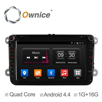 Ownice car audio player for VW PASSAT GOLF POLO with mp3 player gps audio rds bluetooth multimedia car radio DAB