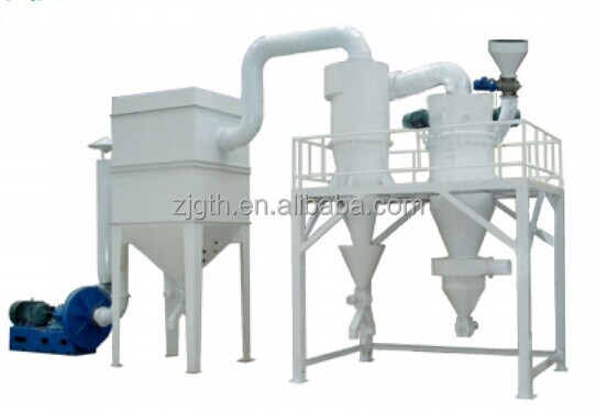 Graphite micron powder Jet Milling Grader/ Fluidized Bed Jet Mill