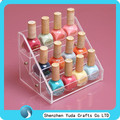 Acrylic Nail Polish stands Acrylic Cosmetic Display nail polish display