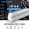 Super bright V-Shaped Factory 50000hours IP44 high power led tube light