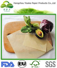 Good Quality Vegetable Parchment Paper for packaging vegetables