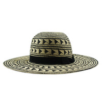 Cheap Wholesale Summer hat Custome foldable Straw Hat