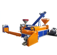 Plastic Recycling Machine / PP PE Film Bags plastic Pelletizing Machine