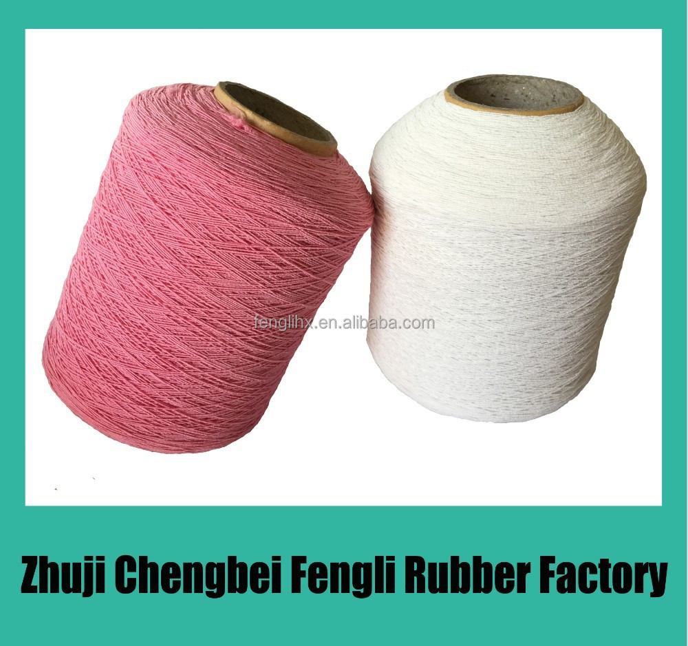 Elastic yarn for sock <strong>rubber</strong> 110/75/75