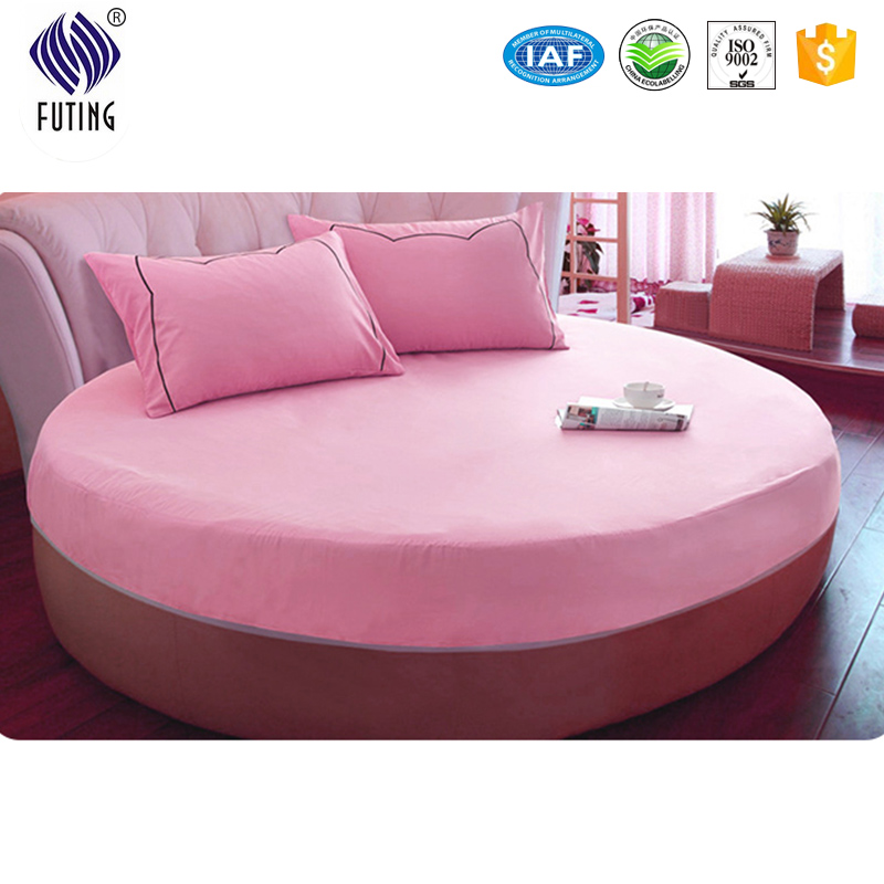 100% cotton mattress cover protector for round bed - Jozy Mattress | Jozy.net