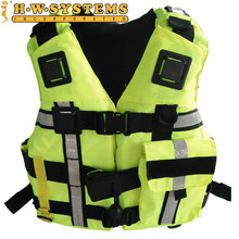 300 PCS Best Sale Life Jacket High buoyancy Adults Comfortable Coast guard Life Vest Safety Protection