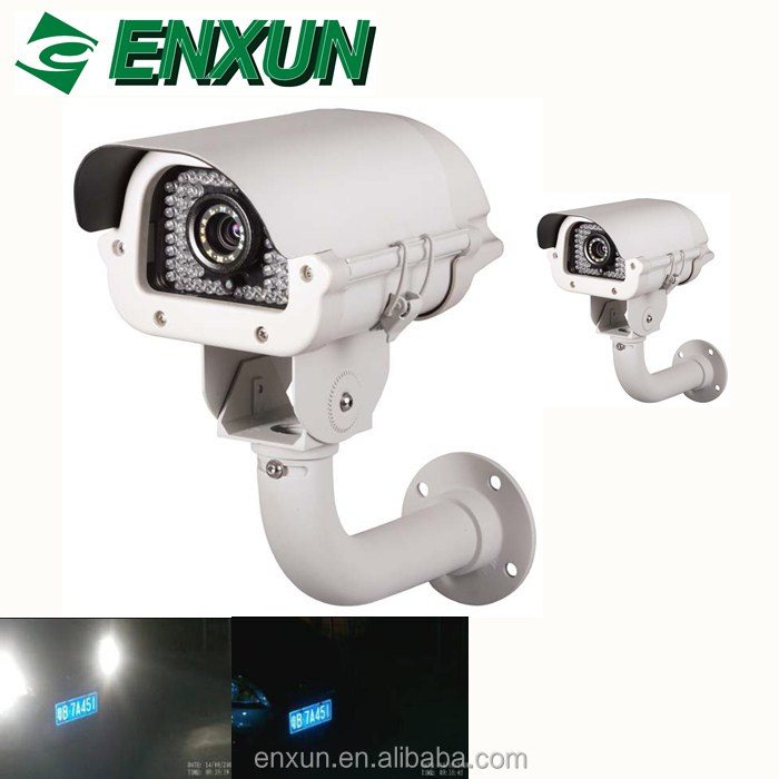 High quality 5.0MP LPR recognition of license plates traffic speed cameras