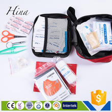 tactical customized logo eva list of items in a first aid box