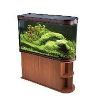 Modern degigned BOYU bullet shape fish aquarium fish tank ZDT1515